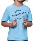 Camiseta niño infantil algodón personalizada
