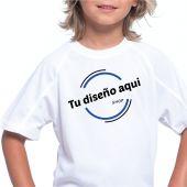 Camiseta niños tecnica personalizada