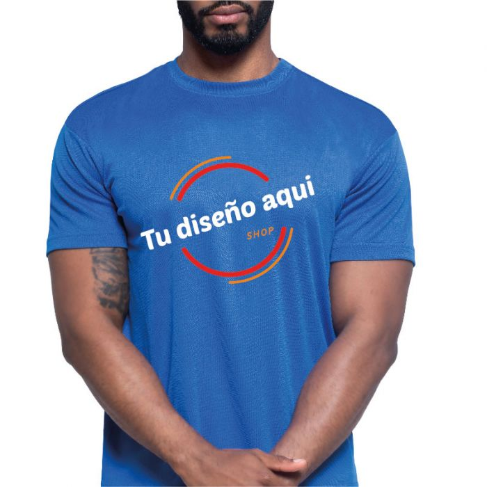 Camiseta unisex adulto tecnica personalizada