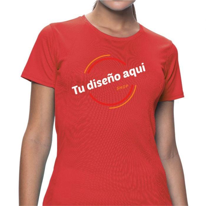 Camiseta mujer adulto tecnica personalizada