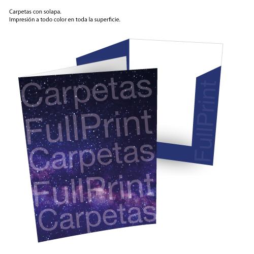 Carpetas con solapa automontables